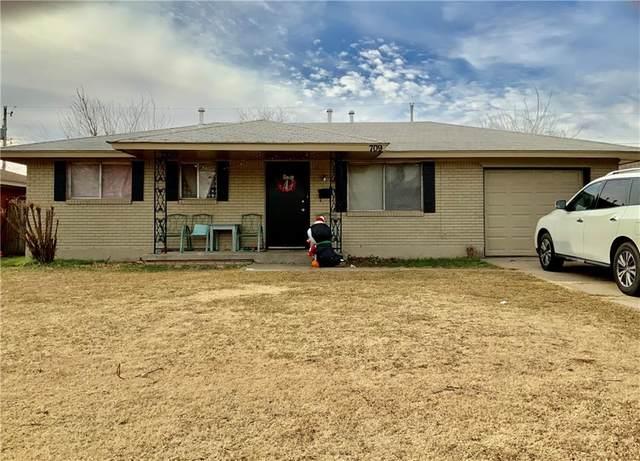 709 N Bristow Avenue, Moore, OK 73160 (MLS #939543) :: The UB Home Team at Whittington Realty