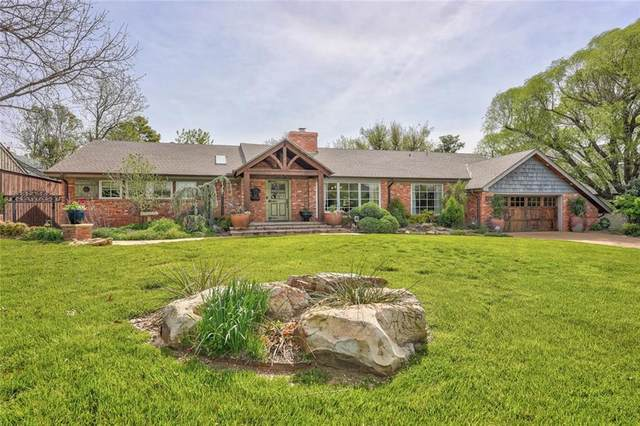 1607 Westminster Place, Nichols Hills, OK 73120 (MLS #939992) :: Homestead & Co