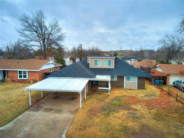 909 W Silver Meadow Drive, Midwest City, OK 73110 (MLS #940191) :: Homestead & Co
