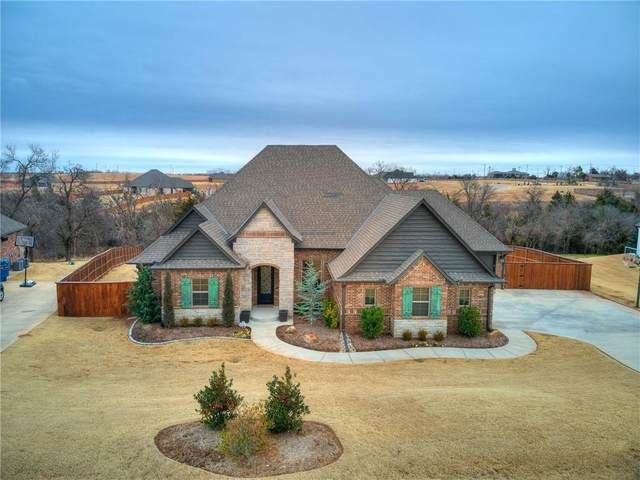4614 Riata Circle, Tuttle, OK 73089 (MLS #940456) :: ClearPoint Realty