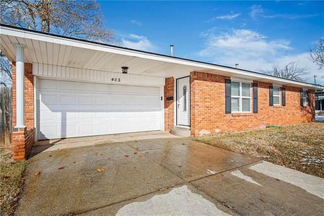405 NE 18th Street, Moore, OK 73160 (MLS #940634) :: Homestead & Co