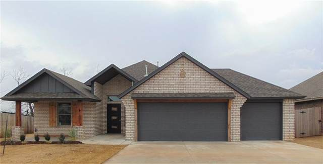 1708 W Zachary Way, Mustang, OK 73064 (MLS #940722) :: The UB Home Team at Whittington Realty