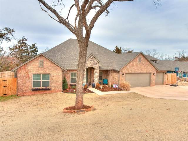 8701 Overlook Drive, Guthrie, OK 73044 (MLS #940931) :: The UB Home Team at Whittington Realty