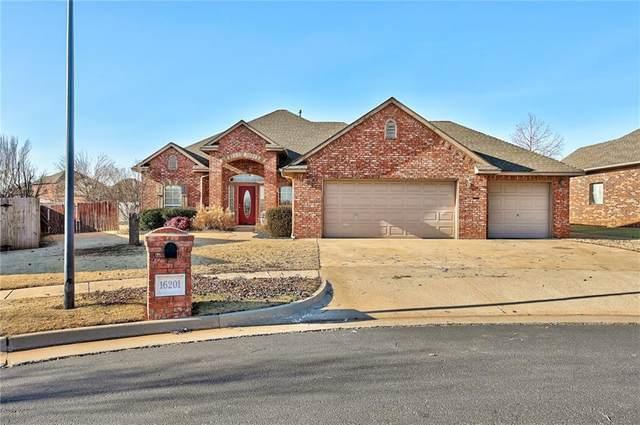16201 Old Oak Drive, Edmond, OK 73013 (MLS #941184) :: Homestead & Co