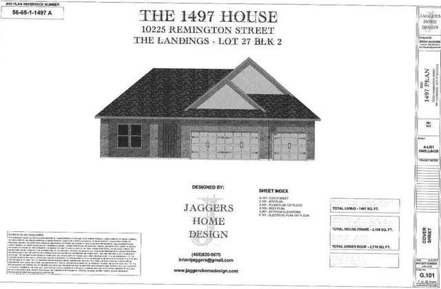 21243 SE 103rd Street, Newalla, OK 74857 (MLS #941199) :: The UB Home Team at Whittington Realty