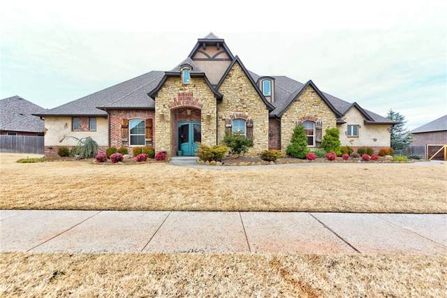 6501 Whispering Grove Drive, Oklahoma City, OK 73169 (MLS #941286) :: Erhardt Group at Keller Williams Mulinix OKC