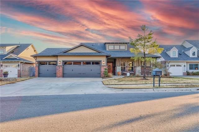 7124 Skipping Stone Drive, Edmond, OK 73034 (MLS #941335) :: Homestead & Co