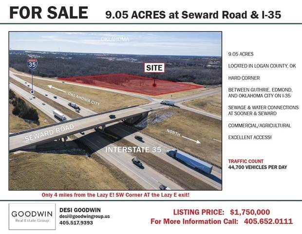 0 Seward & I-35, Guthrie, OK 73044 (MLS #941349) :: Erhardt Group at Keller Williams Mulinix OKC