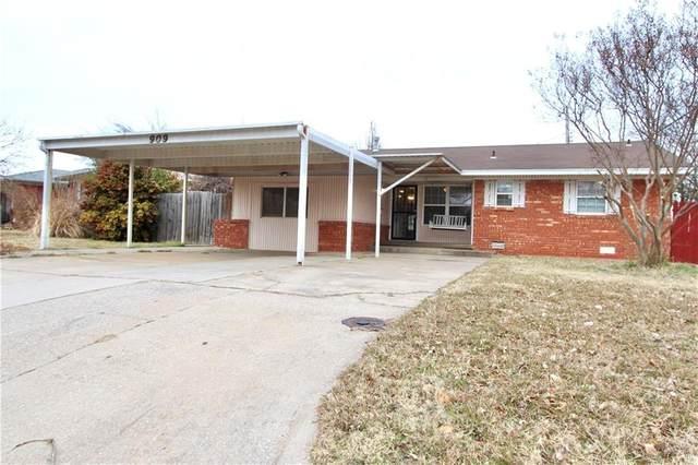 909 Boykin Drive, Midwest City, OK 73110 (MLS #941361) :: Homestead & Co