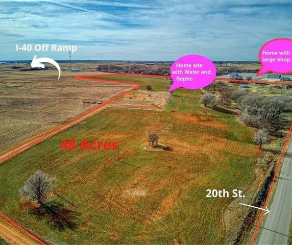 2012 S Merritt Road, Elk City, OK 73644 (MLS #941413) :: Homestead & Co