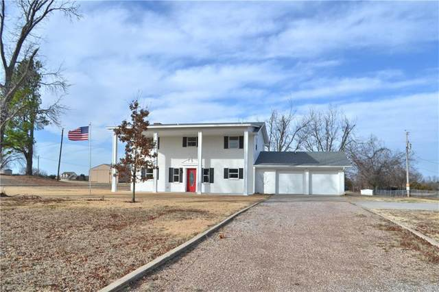 18406 S Rock Creek Road, Shawnee, OK 74801 (MLS #941416) :: The UB Home Team at Whittington Realty