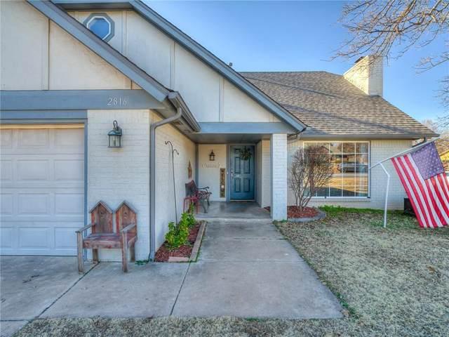 2816 W Shady Tree Lane, Edmond, OK 73013 (MLS #941470) :: Homestead & Co