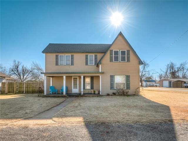 221 W Monroe Street, Crescent, OK 73028 (MLS #941492) :: Your H.O.M.E. Team