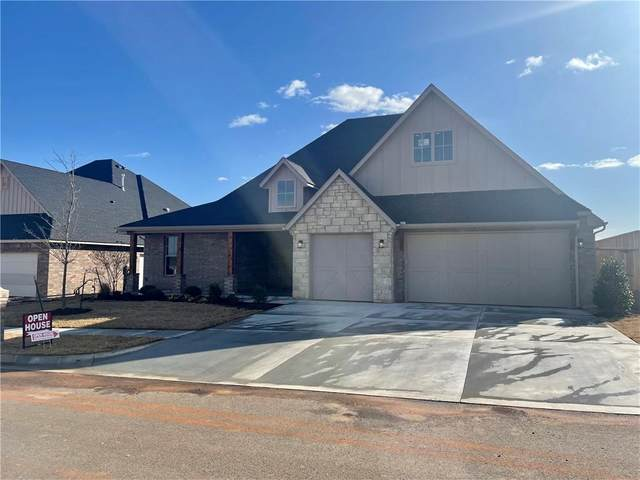 722 Legacy Drive, Norman, OK 73069 (MLS #941547) :: The UB Home Team at Whittington Realty