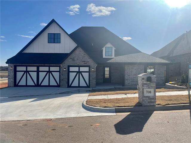708 Fox Hollow Drive, Norman, OK 73069 (MLS #941561) :: The UB Home Team at Whittington Realty