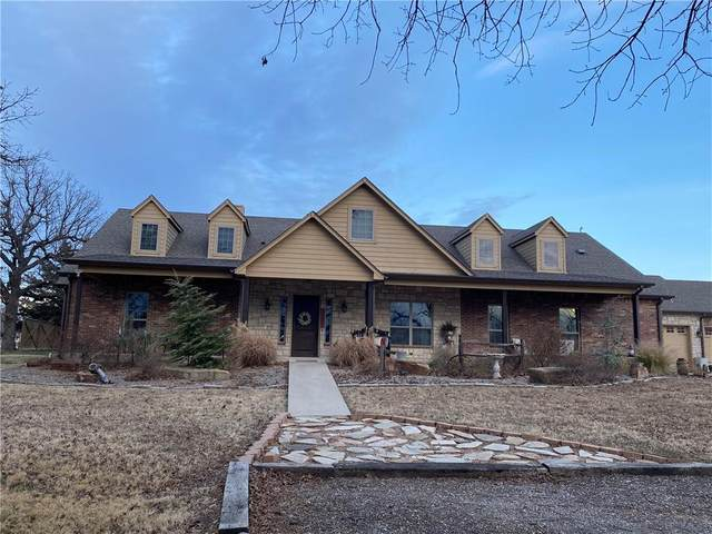 28403 S 561st West Avenue, Stroud, OK 74079 (MLS #941713) :: The UB Home Team at Whittington Realty