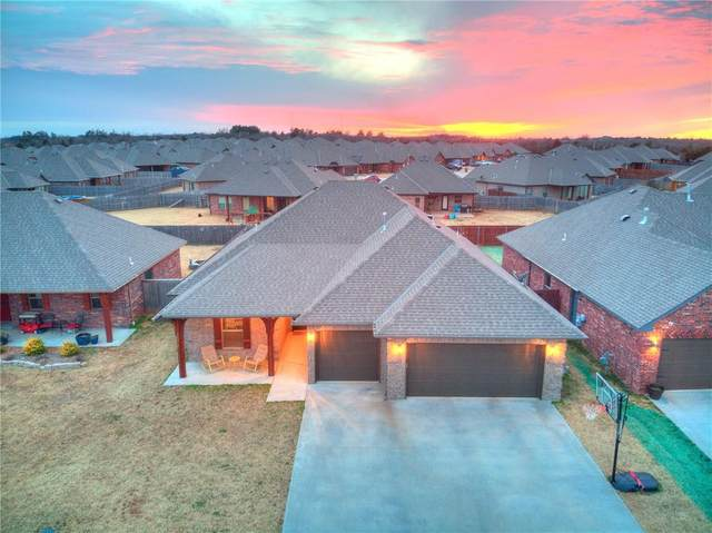 20652 Landmark Drive, Harrah, OK 73045 (MLS #941726) :: Homestead & Co