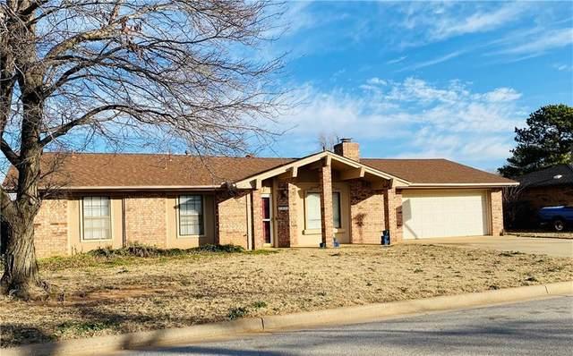 1413 Plains Avenue, Weatherford, OK 73096 (MLS #941804) :: The UB Home Team at Whittington Realty