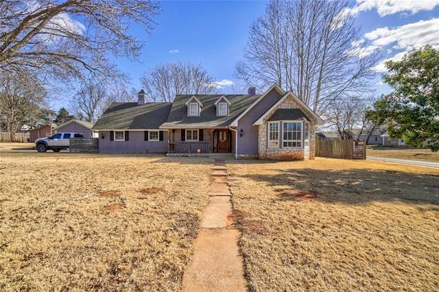 120 S 7th Avenue, Purcell, OK 73080 (MLS #941912) :: Erhardt Group at Keller Williams Mulinix OKC
