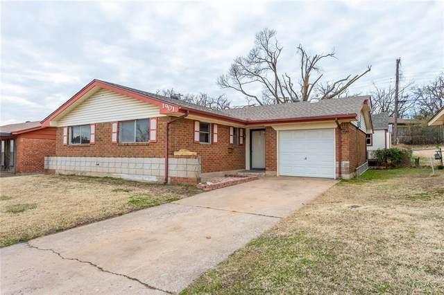1901 N Wilburn Avenue, Bethany, OK 73008 (MLS #942006) :: Homestead & Co
