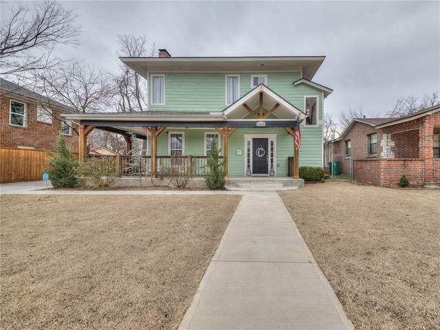 1516 NW 34th Street, Oklahoma City, OK 73118 (MLS #942095) :: Homestead & Co