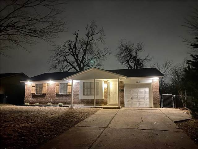 226 W Campbell Drive, Midwest City, OK 73110 (MLS #942160) :: The UB Home Team at Whittington Realty