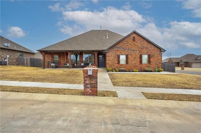 20699 Landmark Drive, Harrah, OK 73045 (MLS #942193) :: Homestead & Co