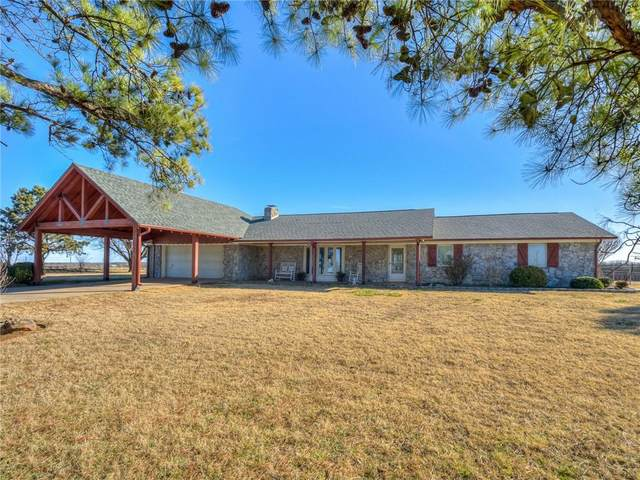 18415 N County Road 3010 Road, Lindsay, OK 73052 (MLS #942217) :: The UB Home Team at Whittington Realty