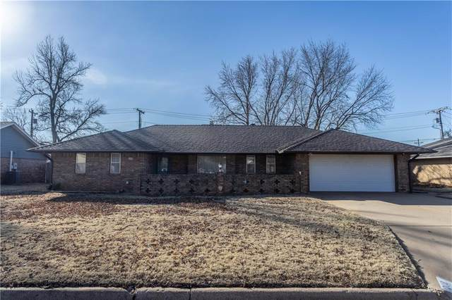 1206 E Proctor, Weatherford, OK 73096 (MLS #942311) :: KG Realty