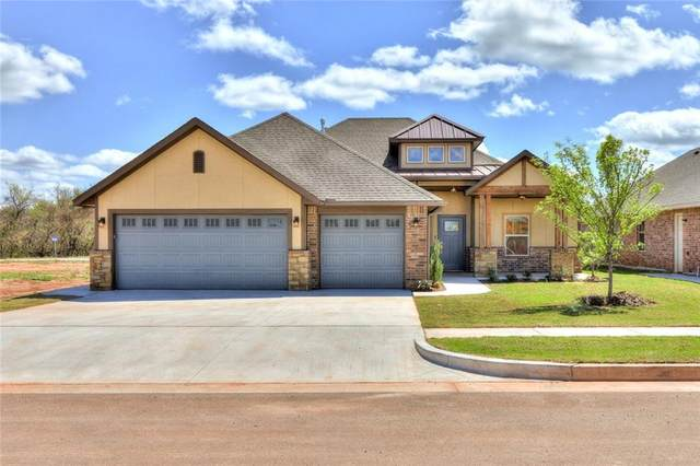 2812 Cedar Creek Drive, Moore, OK 73160 (MLS #942333) :: Homestead & Co