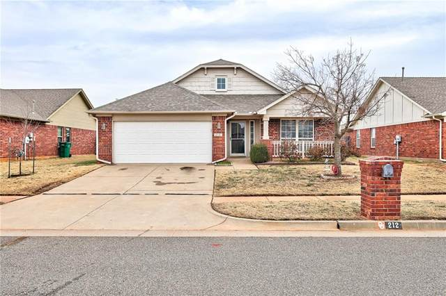 212 Somers Pointe Boulevard, Yukon, OK 73099 (MLS #942385) :: The UB Home Team at Whittington Realty