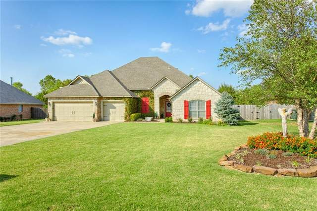 7996 Lindsay Lane, Edmond, OK 73025 (MLS #942394) :: The UB Home Team at Whittington Realty
