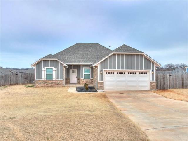 14100 Meadow Ridge Lane, Edmond, OK 73025 (MLS #942471) :: The UB Home Team at Whittington Realty
