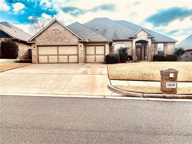 1816 Apache Trail, Edmond, OK 73003 (MLS #942654) :: Homestead & Co
