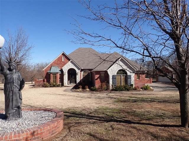 490 Daniel Lee Drive, Choctaw, OK 73020 (MLS #943478) :: Homestead & Co