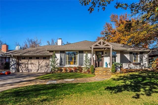 1821 Dorchester Drive, Nichols Hills, OK 73120 (MLS #944339) :: KG Realty