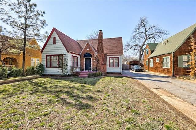 422 Park Drive, Norman, OK 73069 (MLS #944577) :: KG Realty