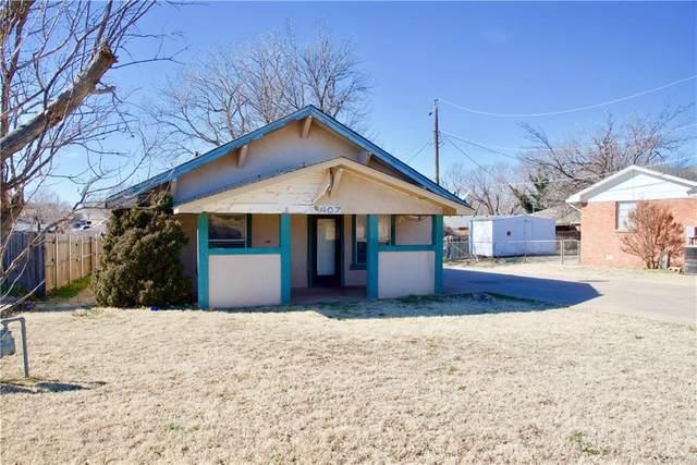 407 N 3rd Street, Weatherford, OK 73096 (MLS #944614) :: ClearPoint Realty