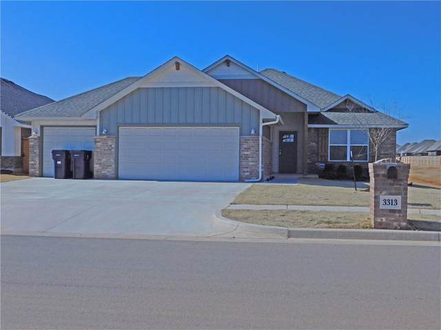 3313 Brookstone Pass Drive, Yukon, OK 73099 (MLS #944665) :: Your H.O.M.E. Team