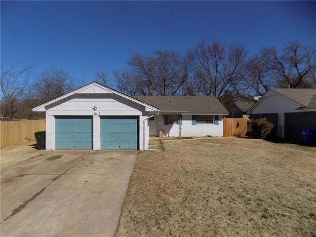 1605 Sunrise Street, Norman, OK 73071 (MLS #945891) :: The UB Home Team at Whittington Realty