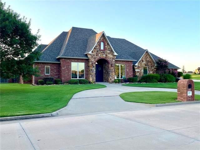 2400 Augusta Drive, Shawnee, OK 74801 (MLS #947073) :: Erhardt Group at Keller Williams Mulinix OKC