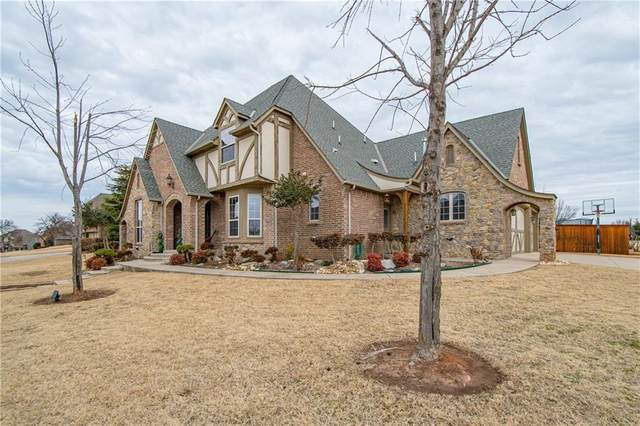4508 Boulder Bridge Way, Edmond, OK 73034 (MLS #947134) :: Homestead & Co