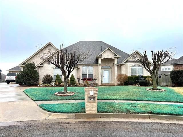 13208 Blackberry Patch Circle, Oklahoma City, OK 73170 (MLS #947280) :: KG Realty