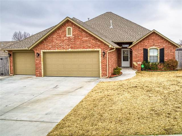 517 Cottonwood Drive, Moore, OK 73160 (MLS #947292) :: The UB Home Team at Whittington Realty