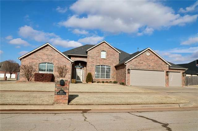 4313 NW 144th Place, Oklahoma City, OK 73134 (MLS #947314) :: KG Realty