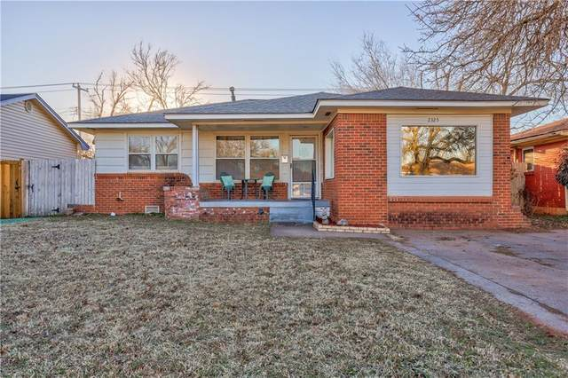 2325 Knox Drive, Del City, OK 73115 (MLS #947385) :: The UB Home Team at Whittington Realty