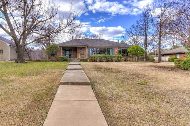 1712 Dorchester Drive, Nichols Hills, OK 73120 (MLS #947410) :: The UB Home Team at Whittington Realty
