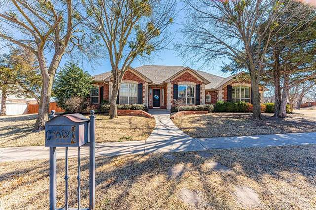 1921 Hallbrooke Drive, Norman, OK 73071 (MLS #947427) :: The UB Home Team at Whittington Realty