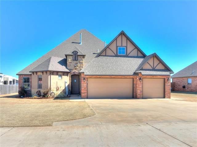 1200 Antler Ridge Ridge, Tuttle, OK 73089 (MLS #947428) :: KG Realty