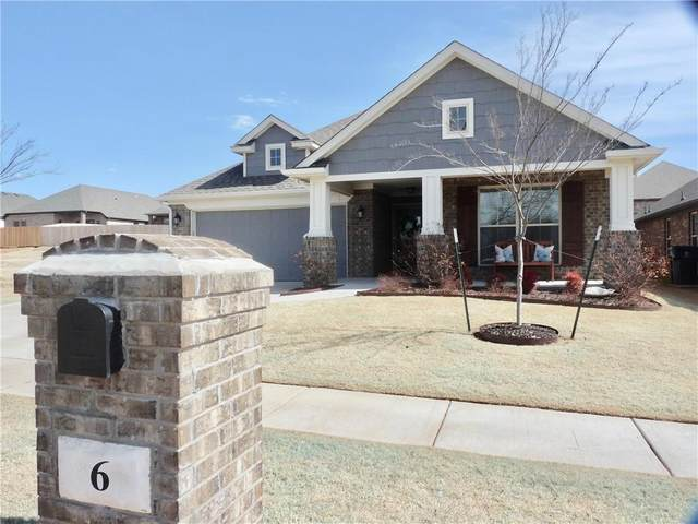 6 Carat Drive, Yukon, OK 73099 (MLS #947470) :: The UB Home Team at Whittington Realty